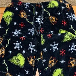 Dr Seuss pajama pants lounge pants size medium